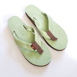 NEW Limited Mint Green Unisex Double Arch Sandal